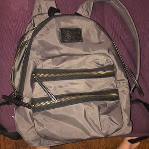 NEW MARC BY MARC JACOBS BACKPACK. Grey with black